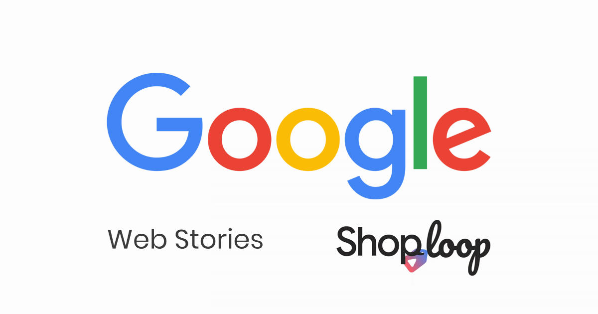 Google web stories og shoploop