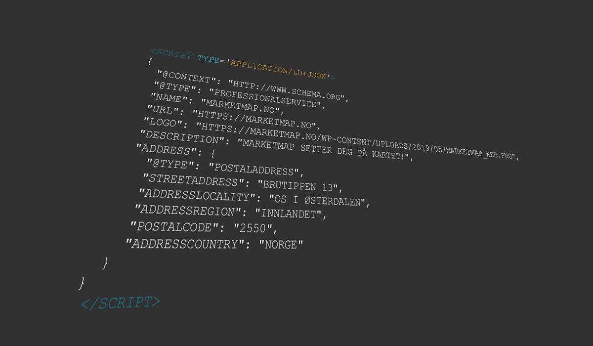 Hva er schema strukturert data